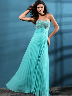 Fabulous A-line Chiffon Sweetheart Sequin Evening/Prom Dresses