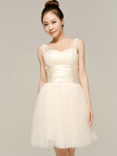 Lovely A-Line Sweetheart Straps Sashes/Ribbons Bridesmaid Dresses