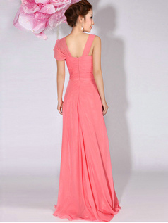 Gorgeous A-Line Sweetheart Draped Bridesmaid Dresses