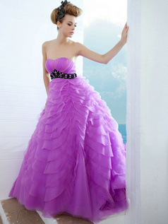 Magnificent Princess Tulle Sweetheart Beading Prom Dresses