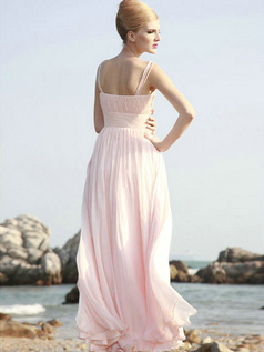 Perfect Sheath/Column Straps Floor-length Crystal Evening/Prom Dresses