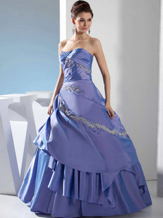 Ball Gown Sweetheart Floor-length Stretch Short Sleeve Prom Dresses With Jacket