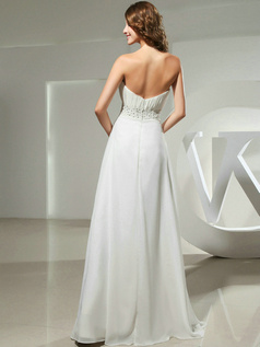 Glorious A-line Chiffon Floor-length Draped Evening Dresses