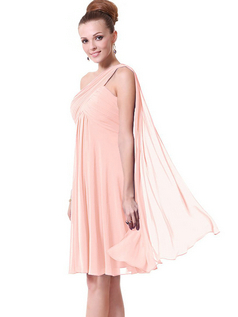 Women's One-Shoulder Cocktail Dress