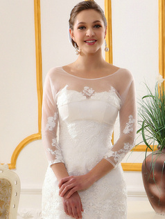 Outstanding Lace Bridal Jacket/Wedding Wrap