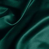 Elastic Silk Like Satin Dark Green