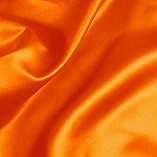 Elastic Silk Like Satin Orange