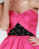 Stunning Princess Taffeta Short/Mini Draped Prom/Homecoming Dresses