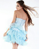 Sexy Princess Organza Short/Mini Tiered Cocktail/Homecoming Dresses