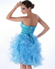 Awesome Princess Organza Sweetheart Cascading Ruffle Cocktail/Homecoming Dresses