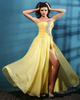 Phenomenal A-line One shoulder Crystal Prom/Evening Dresses