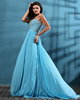 Excellent A-line Chiffon Sweetheart Sweep Prom/Evening Dresses