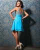 Perfect A-line Straps Short/Mini Sequin Homecoming Dresses