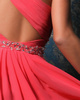Astonishing A-line Chiffon One shoulder Short/Mini Homecoming Dresses