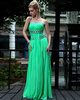 Appealing Sheath/Column Chiffon Floor-length Crystal Prom/Evening Dresses