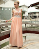 Girl Wear Dress Bound And Gagged Gorgeous A-line Chiffon Floor-length Beading Evening/Prom Dresses
