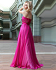 Gorgeous A-line Tube Top Floor-length Crystal/Rhinestone Sequin Evening Dresses