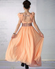 Gorgeous A-line V-neck Floor-length Beading Evening/Prom Dresses