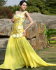 one of a kind prom dresses Graceful Mermaid/Trumpet One shoulder Sweep Sequin Evening/Prom Dresses