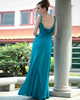 Graceful Sheath/Column Chiffon Straps Sequin Prom/Evening Dresses