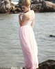 Lovely Sheath/Column Chiffon V-neck Sequin Evening/Prom Dresses