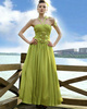 one of a kind prom dresses Noble A-line Chiffon Halter Draped Evening/Prom Dresses