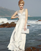 Graceful Sheath/Column Straps Floor-length Beading Evening Dresses