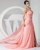 Awesome Sheath/Column Sweetheart Court Train Split Front Prom Dresses