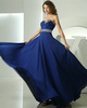 Lovely Sheath/Column Chiffon Sweetheart Crystal Evening Dresses