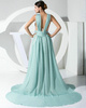 Fabulous A-line Chiffon Straps Tiered Evening Dresses