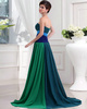 Fantasy A-line Chiffon Sweetheart Sweep Evening Dresses