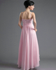A-line Spaghetti Straps High Low Chiffon Beading Sequin Prom Dresses