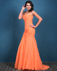 Graceful Mermaid/Trumpet Chiffon Sweetheart Sweep Prom Dresses