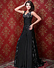 Incomparable A-line Lace V-neck Sweep Evening Dresses