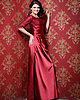 Terrific A-line Bateau Floor-length Lace Evening Dresses