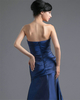 Over Hip Tube Top Floor-length Taffeta Tiered Evening Dresses