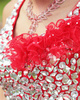Ball Gown Straps Floor-length Tulle Crystals And Rhinestones Bodice Quinceanera Dresses