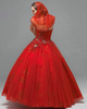 Ball Gown Sweetheart Floor-length Tulle Embroidery Prom Dresses