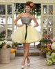 Ball Gown Sweetheart Mini Tulle Beading Homecoming Dresses