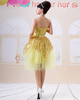 Princess Tube Top Mini Tulle Sequin Ruffle Homecoming Dresses