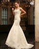 Graceful Mermaid Lace Straps Court Train Wedding Dresses
