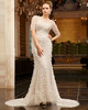 Bravo Mermaid Lace Bateau Sweep Wedding Dresses