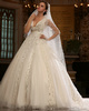 Stunning Ball Gown Tulle Chapel Train Sequin Wedding Dresses