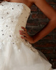 Excellent Ball Gown Tulle Tube Top Beading Floor-length Wedding Dresses