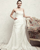 Western Saloon Girl Style Wedding Dresses Noble A-line Taffeta Sweep Appliques Wedding Dresses