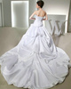 Perfect Over Hip Satin Tube Top Lace Sequin Wedding Dresses