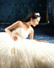 Ball Gown Tube Top Strapless Floor-length Tulle Appliques Wedding Dresses