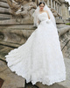 Girls In Very Short Dresses Pantyless A-line Sweetheart Wrap Pleats Flower Court Train Tulle Rhinestone Wedding Dresses