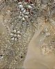 Princess Jewelry Halter Crystals And Rhinestones Bodice Court Train Tulle Flower Ruffle Wedding Dresses