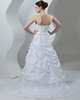 Mermaid Strapless Court Train Taffeta Beading Sequin Wedding Dresses